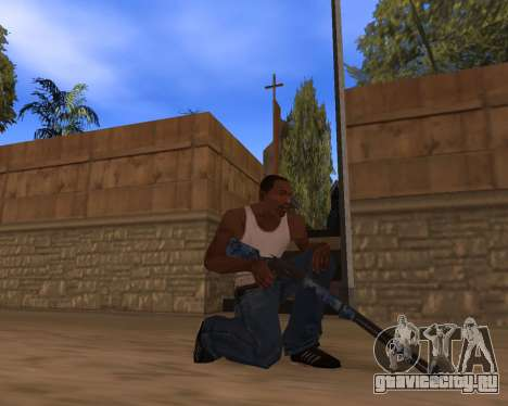 Новогодний Weapon Pack для GTA San Andreas пятый скриншот