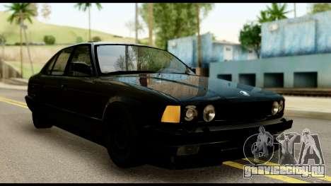 BMW E32 для GTA San Andreas