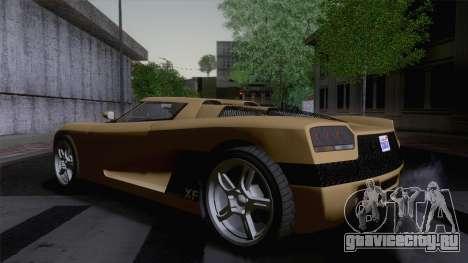 GTA V Overflod Entity XF v.2 (IVF) для GTA San Andreas вид слева
