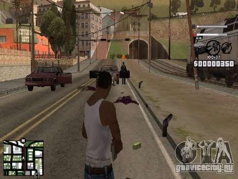 Nice C-HUD для GTA San Andreas третий скриншот