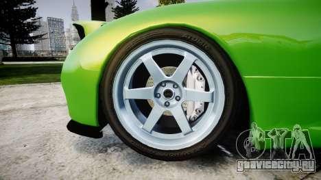 Mazda MX-7 для GTA 4 вид сзади