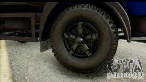 КамАЗ 65115 Эвакуатор ДПС для GTA San Andreas вид сзади слева