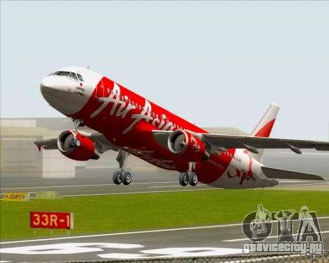 Airbus A320-200 Air Asia Japan для GTA San Andreas вид снизу