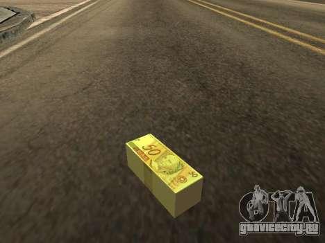 Мод бразильского деньги для GTA San Andreas второй скриншот