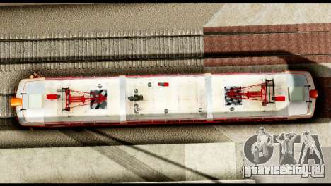 Le 6600kw Delfin для GTA San Andreas вид сзади слева