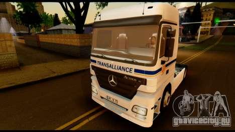 Mercedes-Benz Actros PJ2 для GTA San Andreas вид сбоку