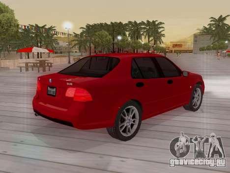 Saab 95 для GTA San Andreas двигатель