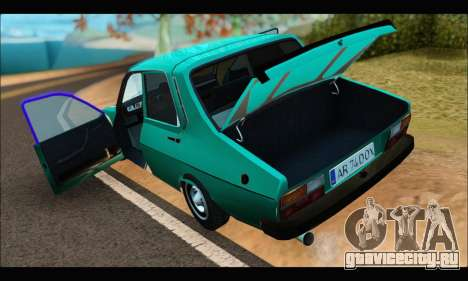 Dacia 1310 DOX для GTA San Andreas вид сзади