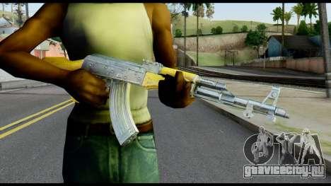 AK47 from Max Payne для GTA San Andreas третий скриншот