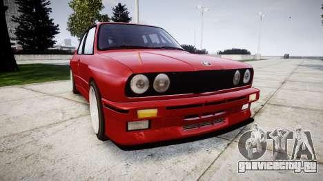 BMW E30 M3 для GTA 4