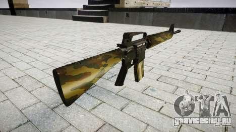 Винтовка M16A2 flora для GTA 4 второй скриншот