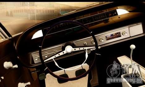 Chevrolet Impala 1963 для GTA San Andreas вид справа