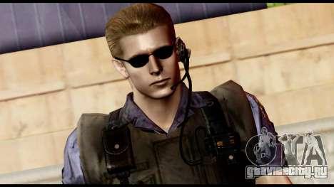 Resident Evil Skin 11 для GTA San Andreas третий скриншот