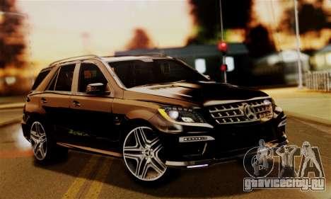 Mercedes-Benz ML63 AMG для GTA San Andreas