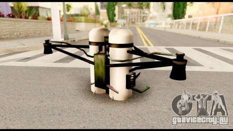 Fury Jetpack from Metal Gear Solid для GTA San Andreas