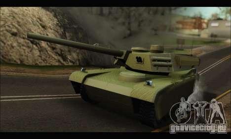 Retextured Rhino Tank для GTA San Andreas