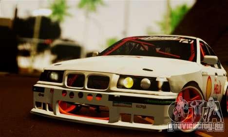 BMW M3 E36 Darnitsa Bandits для GTA San Andreas вид справа