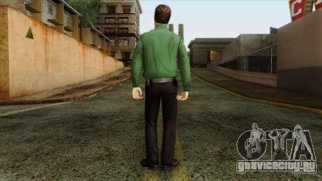 Police Skin 8 для GTA San Andreas второй скриншот