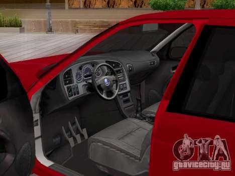 Saab 95 для GTA San Andreas колёса