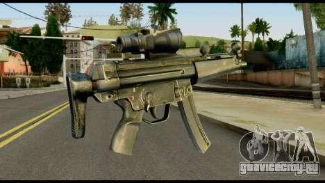 MP5 from Max Payne для GTA San Andreas второй скриншот