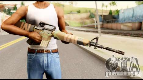 M16 from Metal Gear Solid для GTA San Andreas