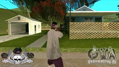 C-HUD Гетто Тащёра для GTA San Andreas