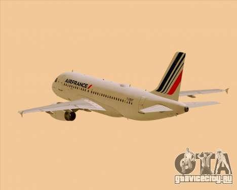 Airbus A319-100 Air France для GTA San Andreas
