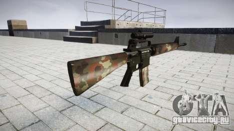 Винтовка M16A2 [optical] berlin для GTA 4 второй скриншот