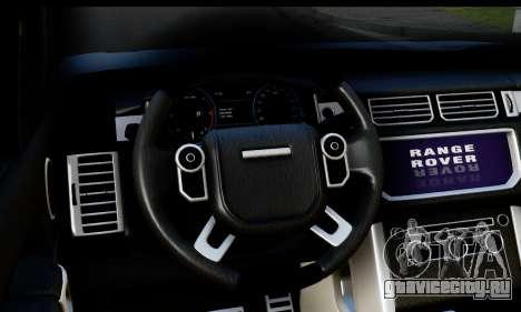 Range Rover IV 3.0 AT для GTA San Andreas вид справа