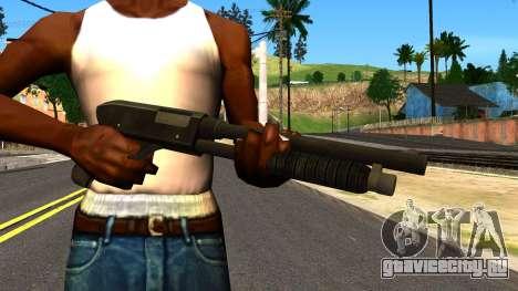 Combat Shotgun from GTA 4 для GTA San Andreas третий скриншот