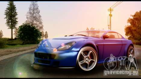 GTA 5 Dewbauchee Rapid GT Coupe [HQLM] для GTA San Andreas