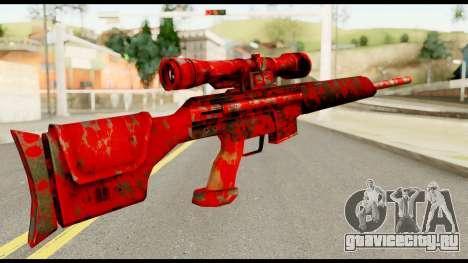 Sniper Rifle with Blood для GTA San Andreas второй скриншот