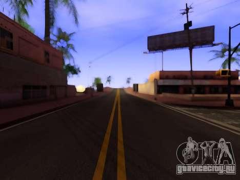 Улучшенные текстуры дорог для GTA San Andreas второй скриншот