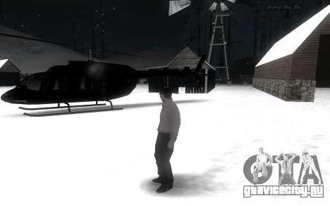 Snow Mod для GTA San Andreas второй скриншот