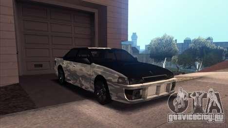 Sultan Winter Camo для GTA San Andreas