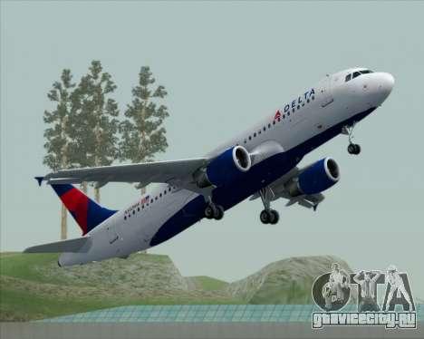 Airbus  A320-200 Delta Airlines для GTA San Andreas