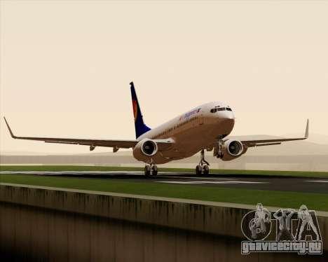 Boeing 737-800 Air Philippines для GTA San Andreas вид сбоку