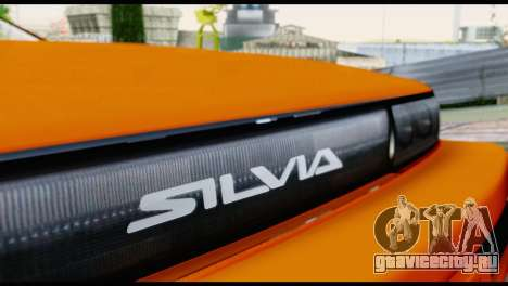 Nissan Silvia S13 Missile для GTA San Andreas вид изнутри