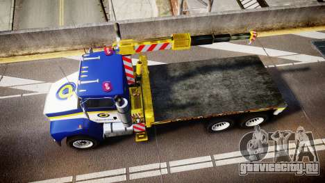 HVY Biff Indonesian Jasamarga Tow Truck [ELS] для GTA 4 вид справа