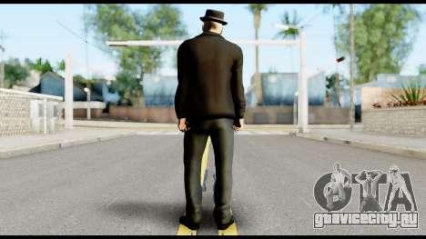 Heisenberg from Breaking Bad v2 для GTA San Andreas второй скриншот