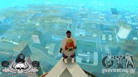 C-HUD Гетто Тащёра для GTA San Andreas второй скриншот