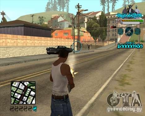 C-HUD for Aztecas для GTA San Andreas второй скриншот
