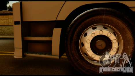 Mercedes-Benz Actros PJ2 для GTA San Andreas вид сзади слева