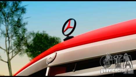Mercedes-Benz E250 для GTA San Andreas вид сзади