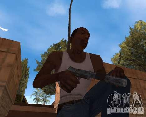 Новогодний Weapon Pack для GTA San Andreas