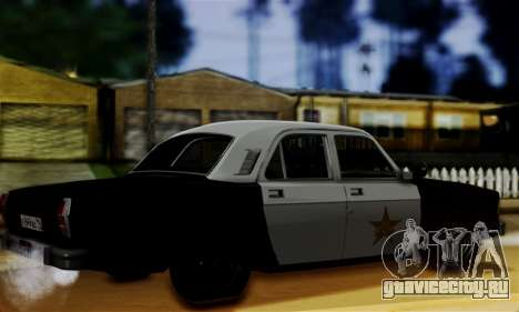 ГАЗ 3102 Волга - Шериф для GTA San Andreas вид слева