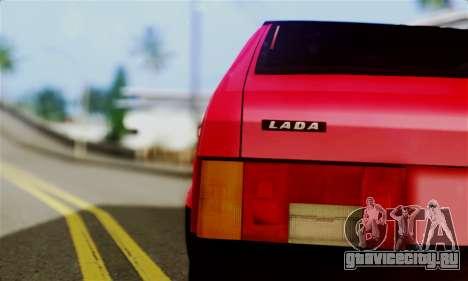 ВАЗ 2108 Бродяга для GTA San Andreas вид сзади слева