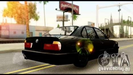 BMW E32 для GTA San Andreas вид слева