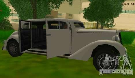 Hustler Limousine для GTA San Andreas вид справа