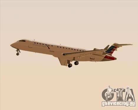 Bombardier CRJ700 American Eagle Airlines для GTA San Andreas вид сбоку